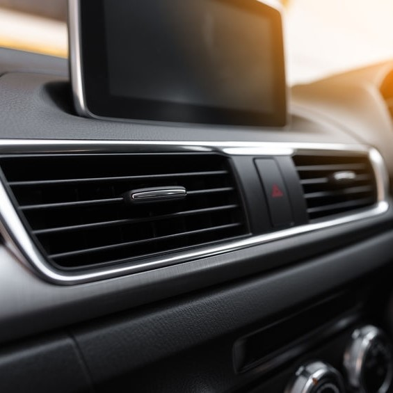 heater vents in car