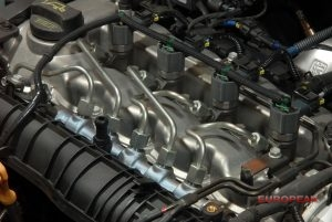 fuel injector inside car